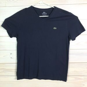 Lacoste Men V-Neck Tee T-Shirt